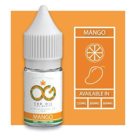 OG CBD Eliquid - Mango - BODY100