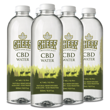 Full Spectrum CBD Water – 6 Pack – 16.9 fl. oz. Bottles - BODY100