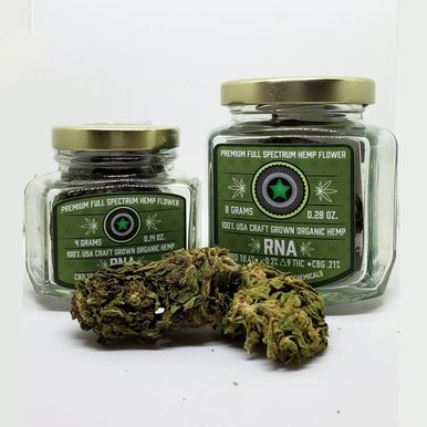 RNA Full Spectrum Hemp Flower - BODY100