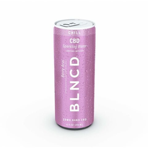CBD Sparkling Water - CHILL - BODY100
