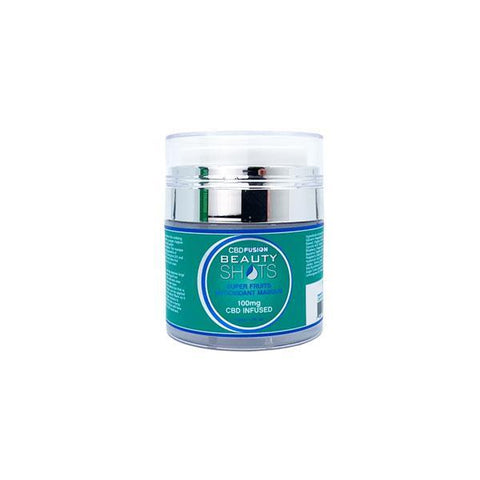 CBD BeautyShots Super Fruits Mask (50ml) - BODY100