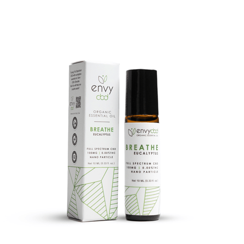 CBD Breathe Essential Oil Roll-On - BODY100