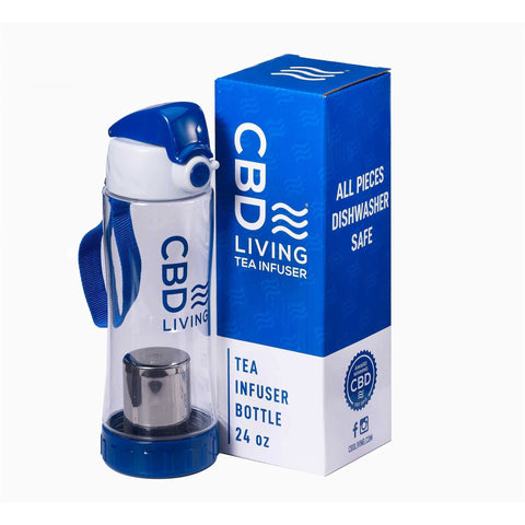CBD Living Tea Infuser Bottle - BODY100