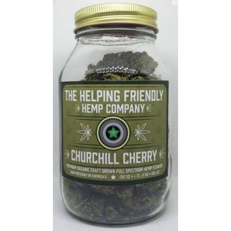 Churchill Cherry Full Spectrum Hemp Flower - 2oz. - BODY100