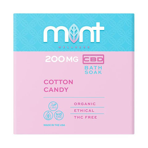 Cotton Candy CBD Bath Bomb - BODY100