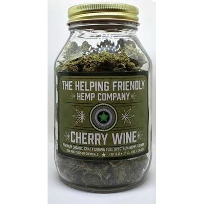 Cherry Wine Full Spectrum Hemp Flower - 2oz. - BODY100