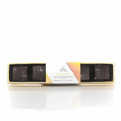 Element Chocolate CBD Caramels - BODY100