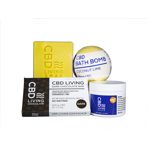 Coconut Dream CBD Bundle - CBD Spa Bundle - BODY100