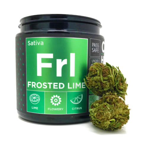 OG CBD Hemp Flower - Frosted Lime - BODY100