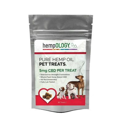 Hempology Pure Hemp Oil Calming Dog Treats (5mg) - BODY100