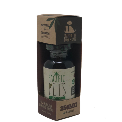 Pacific Pets CBD Co. Drops (Tinctures) - 250mg Wholesale - BODY100