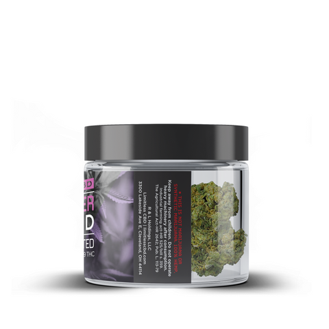 CBD Hemp Flower Jar - T2 Hybrid - BODY100