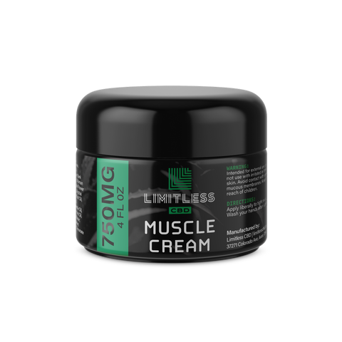 CBD Infused Muscle Cream - BODY100