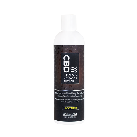 CBD Living Massage Oil - BODY100