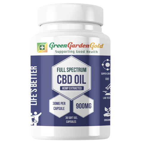 Full Spectrum CBD Softgel Capsules - BODY100