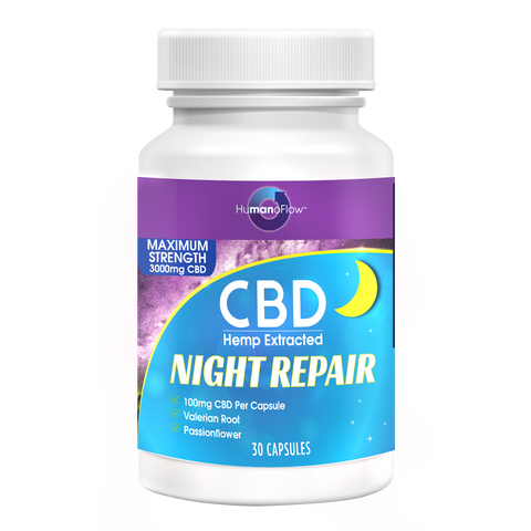 CBD Night Repair™ Capsules - BODY100