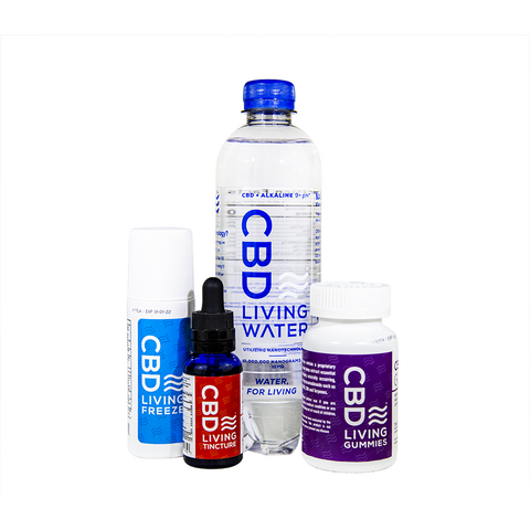 The Optimal Performance CBD Bundle - CBD For Athletes - BODY100