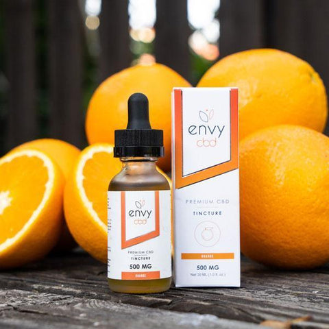 CBD Tincture Oil - Orange - BODY100