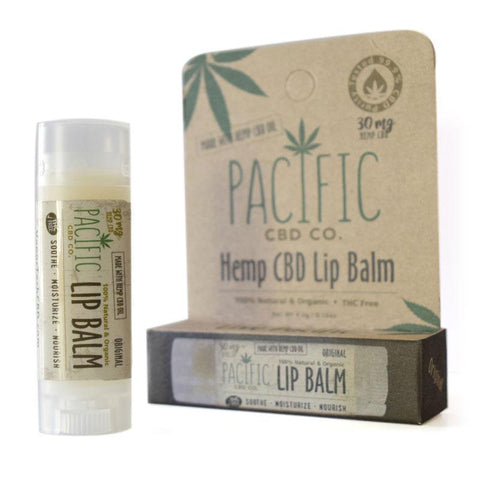 Pacific CBD Co. Lip Balm: 30MG Wholesale - BODY100