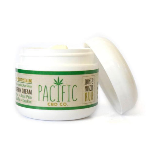 Pacific CBD Co. Joint & Muscle Rub: 125MG Wholesale - BODY100