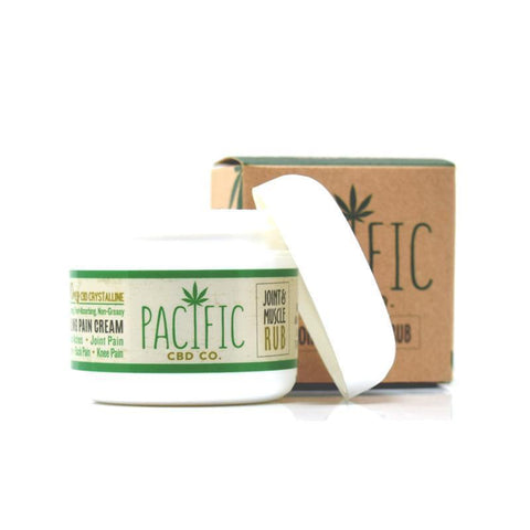 Pacific CBD Co - 500mg CBD Joint & Muscle Rub for Pain & Soreness - BODY100