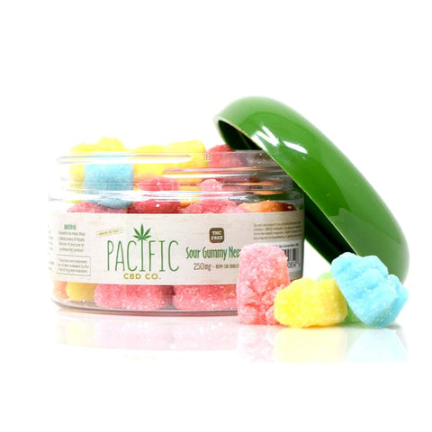 Pacific CBD Co - CBD Sour Gummy Neons 250mg CBD - Wholesale - BODY100