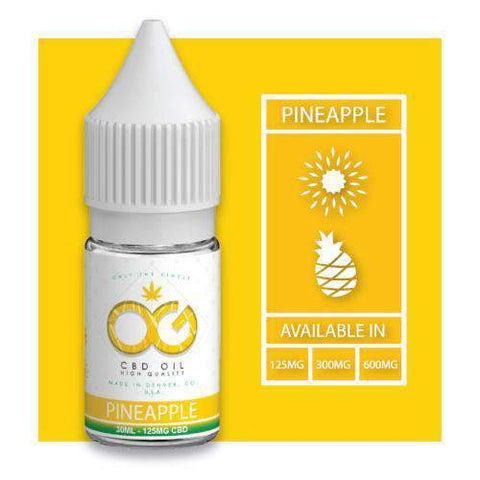 OG CBD Eliquid - Pineapple - BODY100