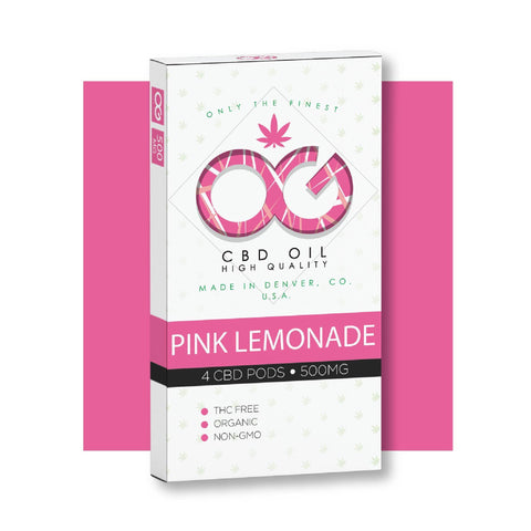 OG CBD Pink Lemonade Pods (Pack of 4) - BODY100