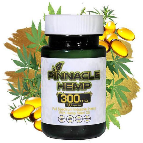 CBD Capsules 30ct - 300MG - BODY100
