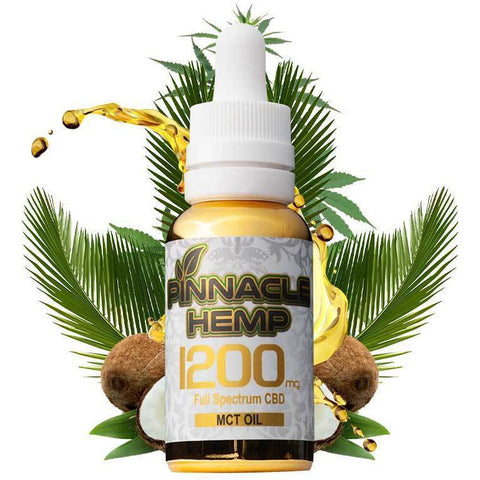 Pinnacle Hemp CBD Tincture W/ MCT - BODY100