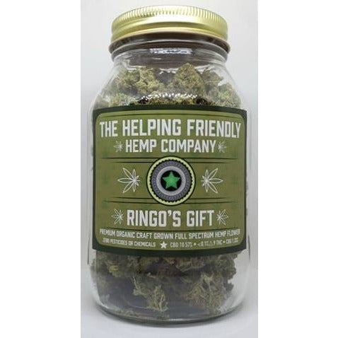 Ringo's Gift Full Spectrum Hemp Flower - 2oz. - BODY100