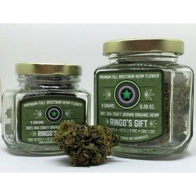 Ringo's Gift Full Spectrum Hemp Flower - BODY100