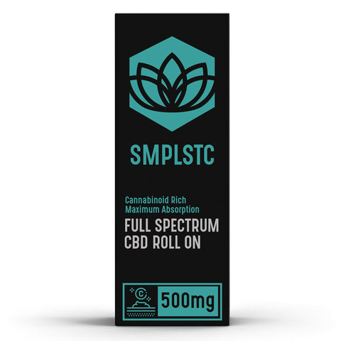 Full Spectrum CBD Roll On with Menthol - BODY100