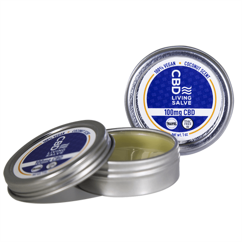 CBD Living Travel Salve 100 mg - BODY100