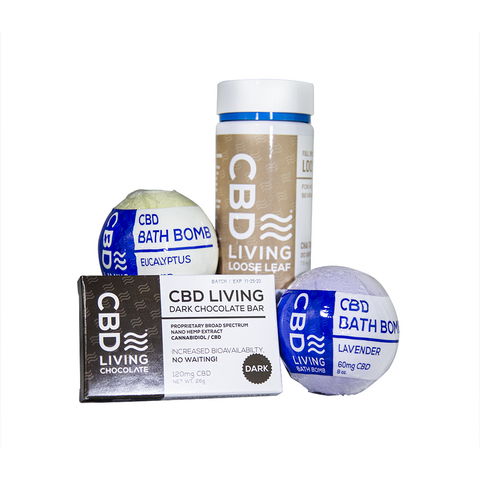 Serenity NOW CBD Bundle - CBD Spa Bundle - BODY100
