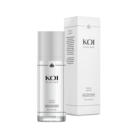 Koi Skincare | CBD Facial Serum - BODY100