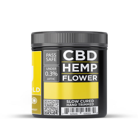 OG CBD Hemp Flower - Siskiyou Gold - BODY100