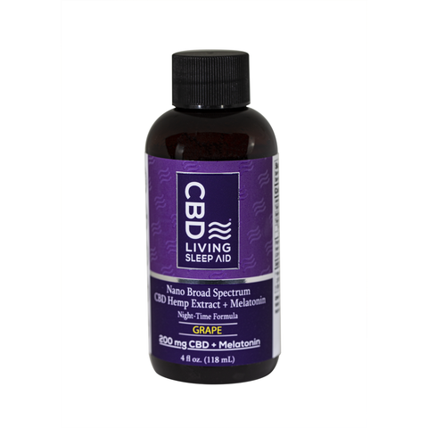 CBD Living Sleep Aid Grape Flavor - BODY100