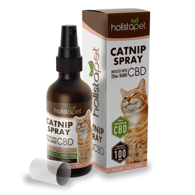 Catnip Spray with CBD - 20mg Nano-enhanced CBD (absorbs up to 100mg) - BODY100