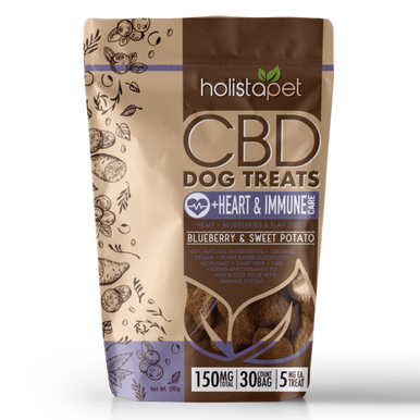 CBD Dog Treats +Heart & Immune Care - BODY100