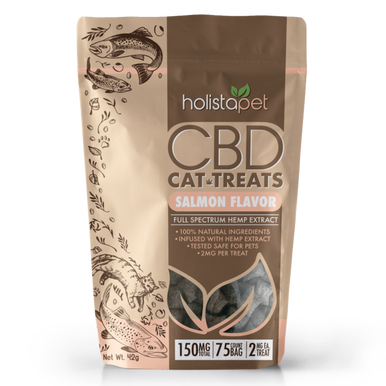CBD Cat Treats - 2mg CBD per treat - 150mg per bag - BODY100