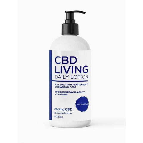 CBD Living Lotion Eucalyptus 250mg - BODY100