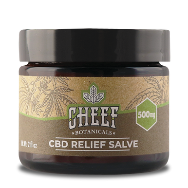 CBD Relief Salve - 500mg - BODY100