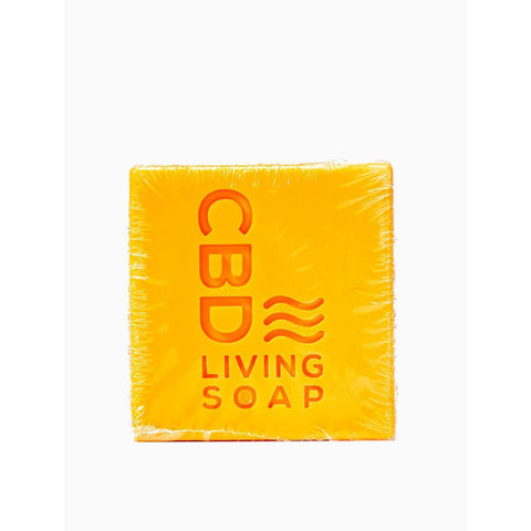 CBD Living Soap 60mg Amber Bergamot - BODY100