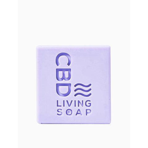 CBD Living Soap 60mg Lavender - BODY100