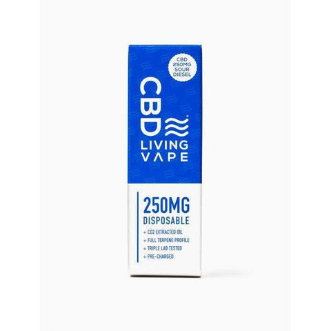 CBD Living Disposable Vape - Sour Diesel - BODY100