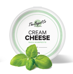 Cream Cheese - Basilikumpesto 150g.