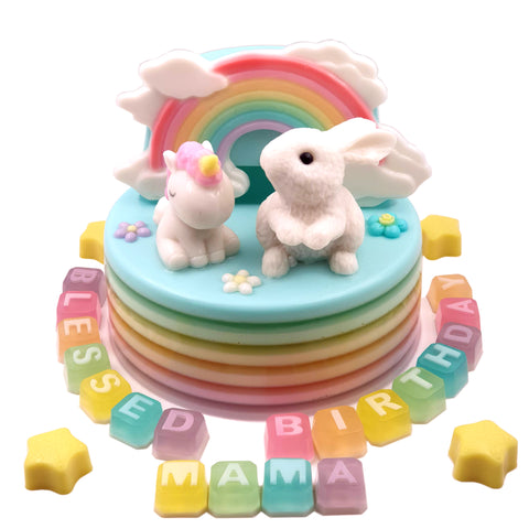 Rabbit & pony - CakeArtelier