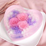 Lovely heart cake (KJLH20201207)