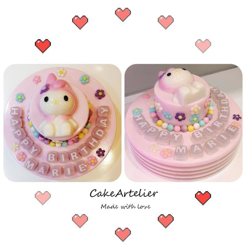 Sweetie (Two tiers 02) - CakeArtelier
